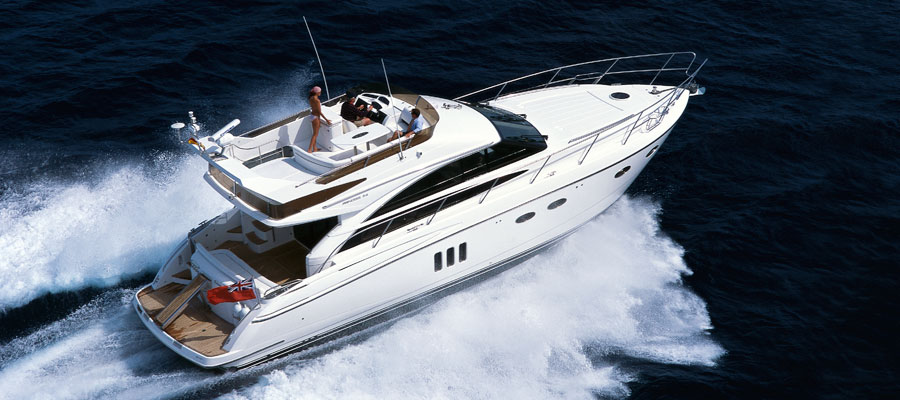 Used boats for sale flybridge over 50 feet for 50 ft motor yachts for sale